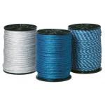 Elrep Standard 5 mm / 300 m blå/vit